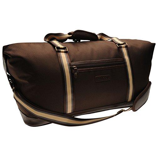 Kangol Otoño marrón bolsa de pesca bolsa, marrón, H: 34cm; W: 50cm; D: 26cm.