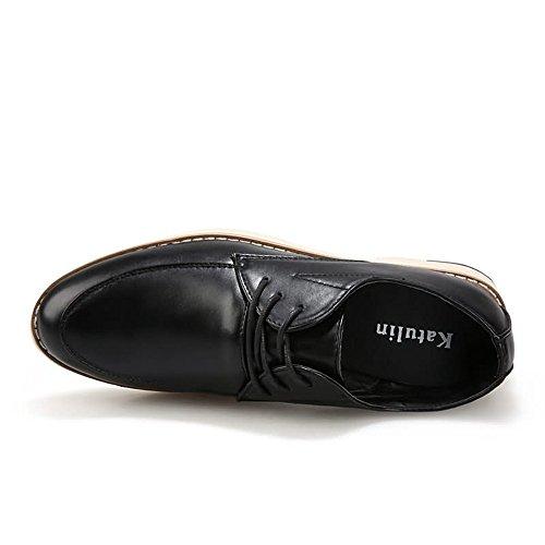 2018 da fino alla Color da Fang uomo Dimensione 44EU taglia 40 EU Primavera shoes Nero Scarpe Blu con Oxford tacco Estate uomo piatto O55Pq