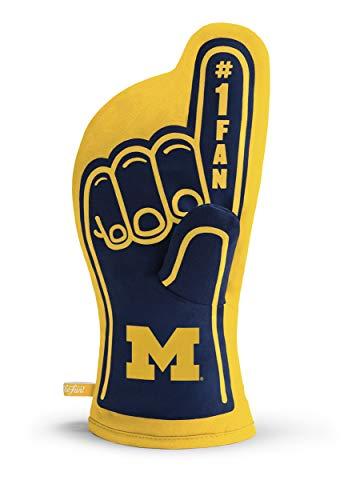(NCAA Michigan Wolverines #1 Oven Mitt )