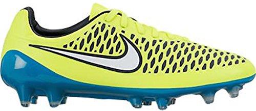 Nike–MAGISTA Opus FG Fútbol Cleat (V, Azul)