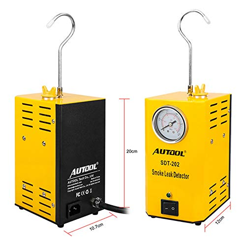 AUTOOL SDT 202 12V Automotive Fuel Leak Detectors with Pressure Gauge by AUTOOL (Image #3)