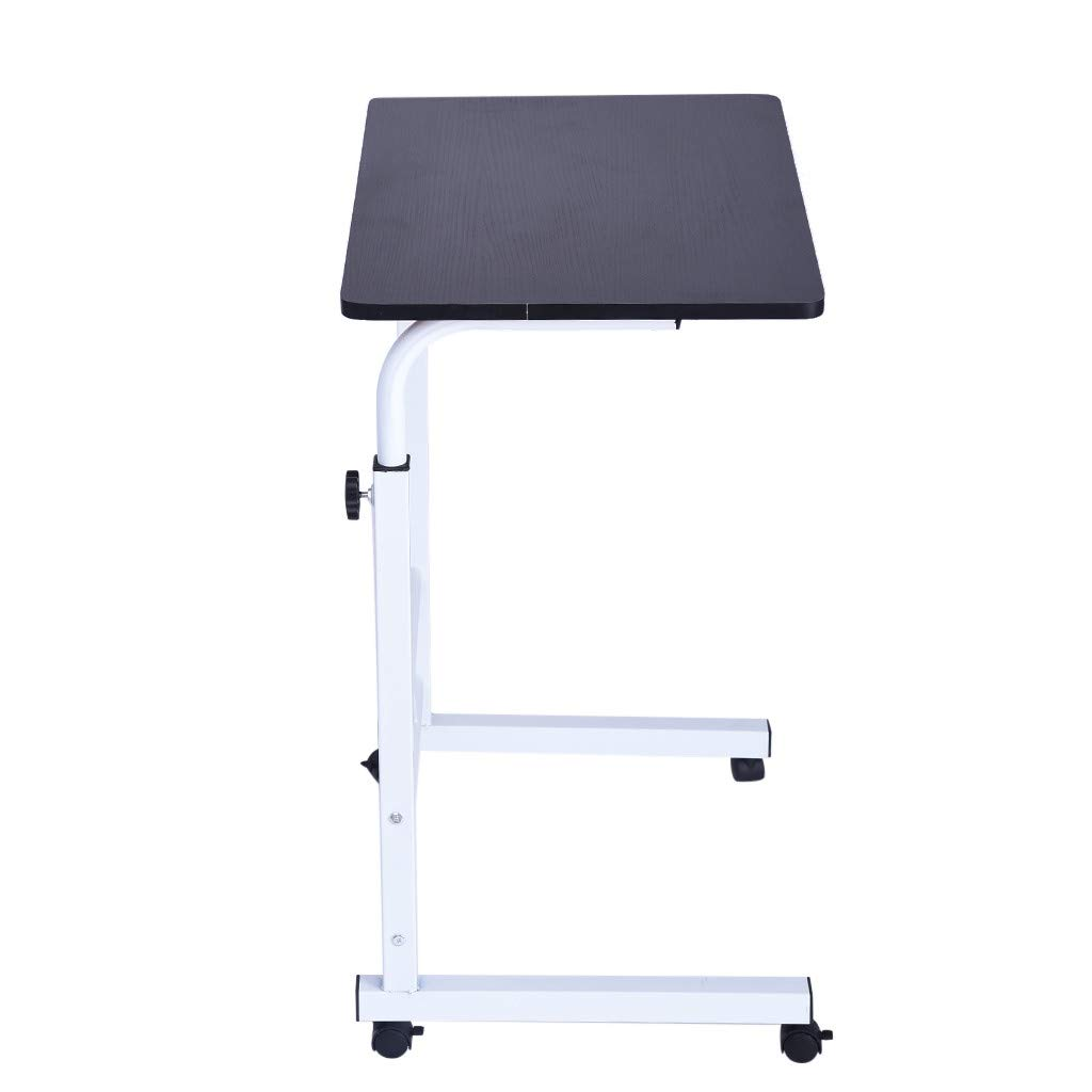 Geetobby Home Office Chair Can Be Lifted and Lowered Mobile Computer Desk Bedside Table