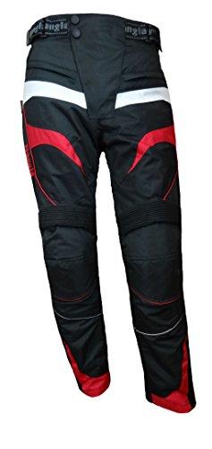 Bangla 1545 Motorradhose Tourenhose Textil Cordura 600 schwarz-Rot 4XL