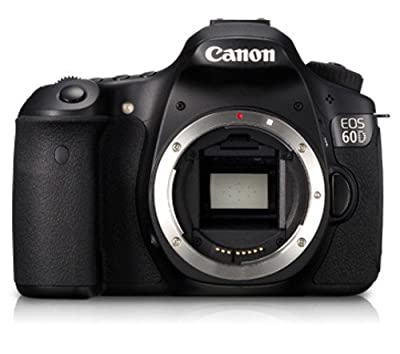 Canon EOS 60D 18 MP CMOS Digital SLR Camera with 3.0-Inch LCD (Body Only) by Canon