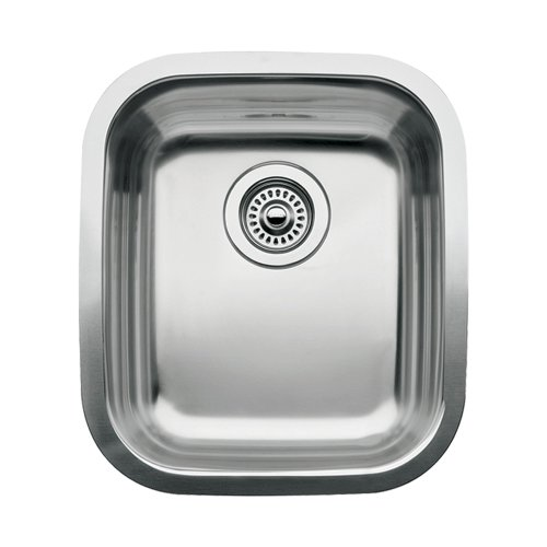 (Blanco 510-886 Supreme Single Bowl Undermount Kitchen Sink, Satin Polished Finish)