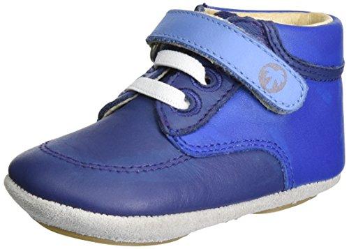 Robeez Follow Me Baby - Zapatillas de casa Bebé-Niñas Azul Marino