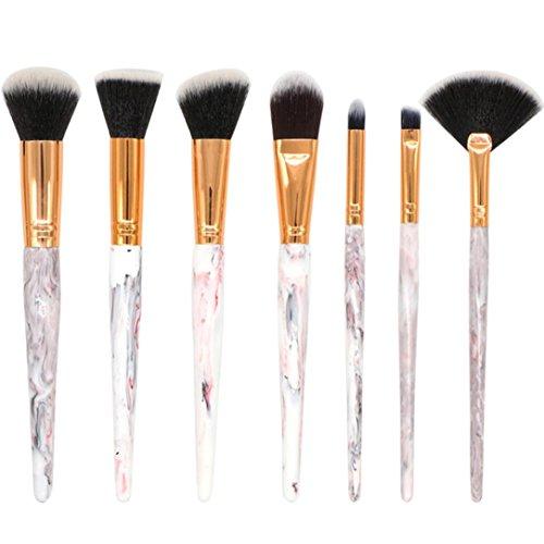 7 Pcs Gradient Makeup Brush Set Eye Shadow Brush Cosmetics B