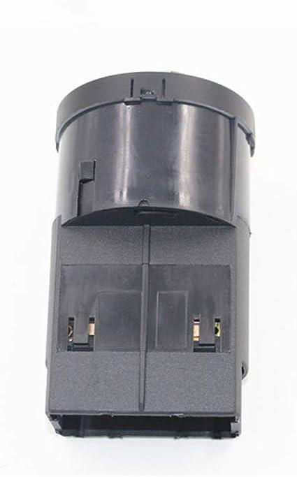 6RD941531 ZPARTNERS Interruttore di Controllo Faro fari Cromato per Volkswagen VW Polo 6R Audi A4 8E B6 TT 8N 6RD 941 531