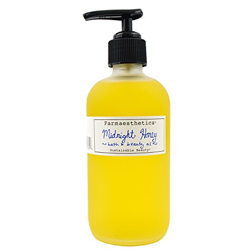 Farmaesthetics Midnight Honey Bath and Beauty Oil (Body, Face and Massage) 7 oz made in New England