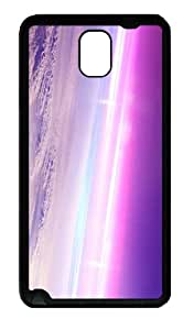 cover personalize aurora sky TPU Black case/cover for samsung galaxy note 3 N9000