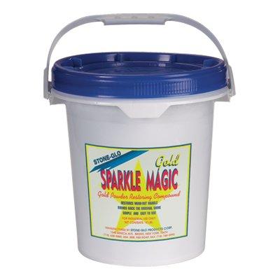 Stone Glo Sparkle Magic Gold (5X Powder) - Floor Glo Stone
