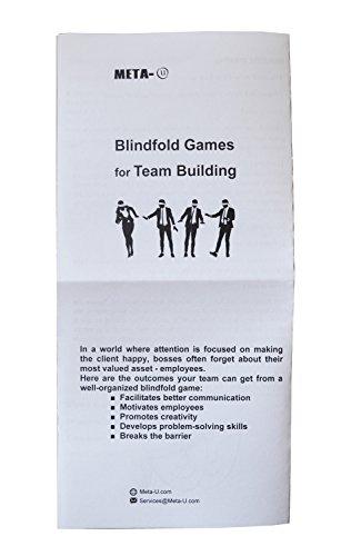 83f33332b Meta-U 50 Pcs Wholesale Eye Mask with Instruction of Blindfold Games ...