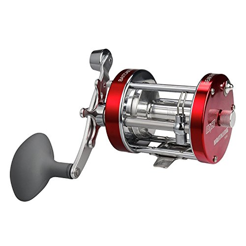 - KastKing Rover Round Baitcasting Reel - No. 1 Rated Conventional Reel - Carbon Fiber Star Drag - Reinforced Metal Body