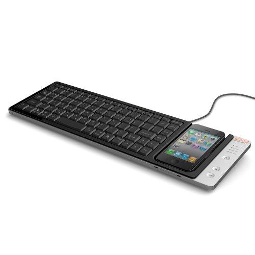 Omnio WOW-KEYS Full-sized, QWERTY PC or MAC Keyboard for iPhone (000WOWKEYS) (Ipod Touch Keypad)