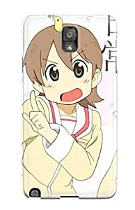Fashion TftPfzP11913WIYba Case Cover For Galaxy Note 3(nichijou)
