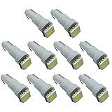 Connoworld Clearance Sale 10pcs T5 5050 1SMD LED Super Bright Bulbs Car Dashboard Gauge Light Lamp