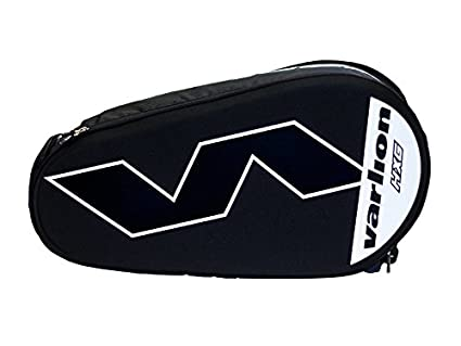 Varlion Hexagon Blanco - Paletero de pádel, Unisex Adulto, Blanco/Negro