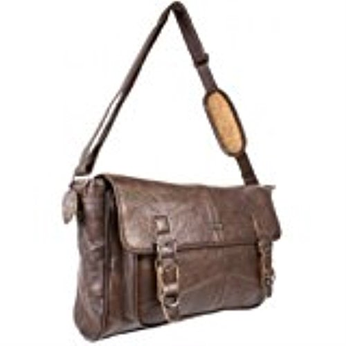 Black Bag Strap with Dark Dark Satchel Brown Leather Shoulder Ladies Shoulder Adjustable Soft Handbag or Brown fxSAqwgw4