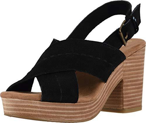 TOMS Women's Ibiza Sandals, Size: 11 B(M) US, Color: Black -