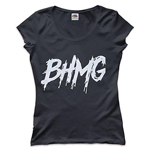 shirt Sfera Bhmg Trap Vari T Hip Donna Colori Nero hop Ebbasta Mokaba HOxw5tqt