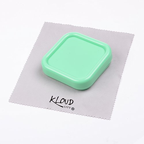 KLOUD City Light Green Magnetic Pin Cushion, Pincushion, Pin Holder, Pin Caddy, Pin Storage Case -