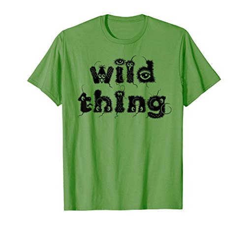Funny Wild Thing Halloween Party Costume Outfit Tshirt -