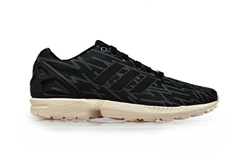 adidas Hombre–ZX Flux Weave–negro onix blanco–B23599