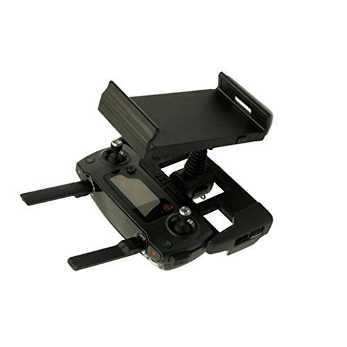 Cinhent Drone Accessories Kit, Remote Control Phone Flat Bracket 4-12 Inch Holder Parts for DJI Mavic Pro Drone Tablet Mount Holder, Adjustable Foldable Quadcopter Flat Stander