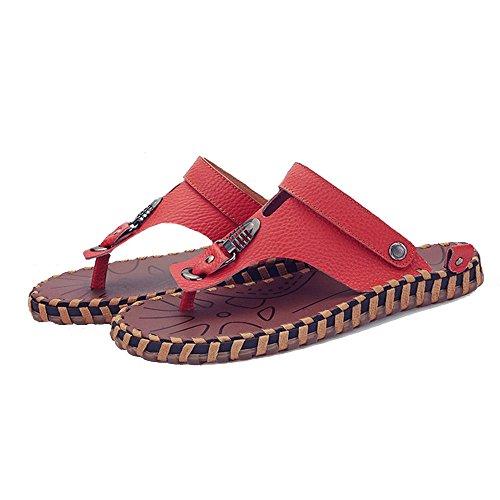 Absorber Eu41 Playa Cómodo Casual Moda De Zapatillas Movimiento 5 El Huo Al Tamaño Antideslizante Sandalias Zapatos Sandals 8 uk7 Suave Sudor Aire Goma color Marrón cn42 Libre Hombres acZxwZTgn