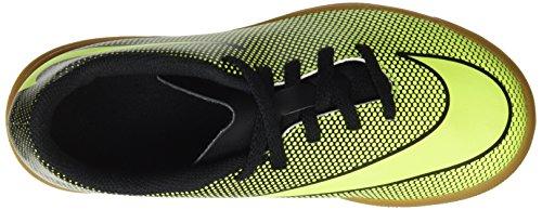 Nike Bravata Ii Ic, Botas de Fútbol Unisex Niños Negro (Black / Volt)