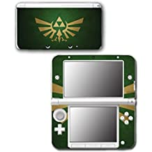 Legend of Zelda Forest Green Gold Video Game Vinyl Decal Skin Sticker Cover for Original Nintendo 3DS XL System