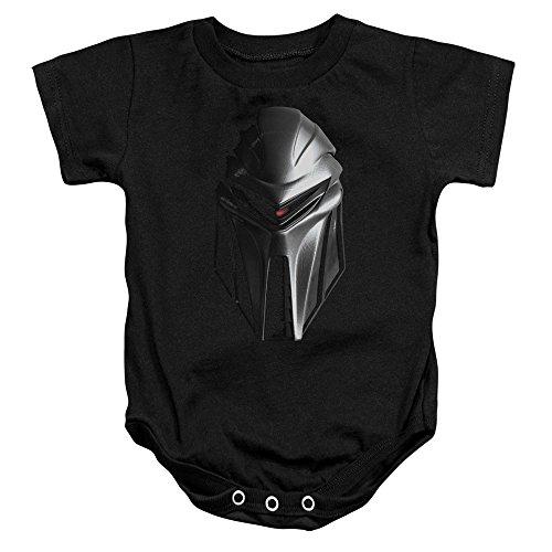- Cylon Head - Battlestar Galactica - Infant One-Piece Snapsuit, 12 Months