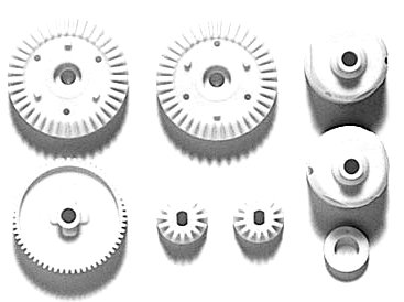 Tamiya 300051004 Tt 01 E/R/G Parts Gear Set