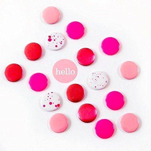 Magneten Set Pink Herr Fuchs 8 Stück