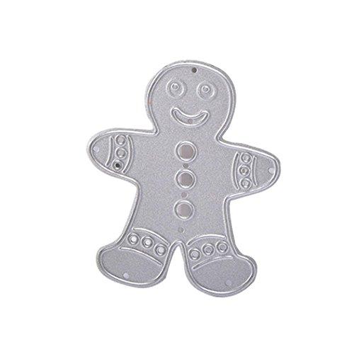 Cute Halloween Stencils (Halloween Merry Christmas Metal Cutting Dies Stencils,Lavany Metal Cutting Dies Stencil 3D Carbon Steel Cut Dies Stencils Scrapbooking Embossing Cards DIY Crafts, DIY Hand Embossing (D))