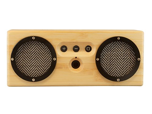 Otis Eleanor Bongo Bamboo Wood Bluetooth Speaker, Oslo