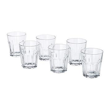 Ikea Gläser ikea 6 er set gläser pokal stapelbares glas für kalte oder heiße