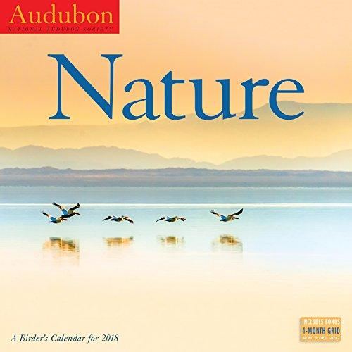 Audubon Nature: A Birder's Wall Calendar 2018 cover