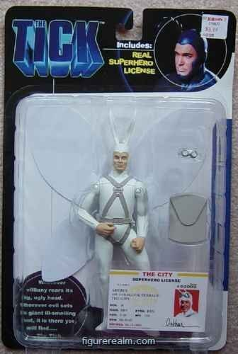 The Tick Arthur Action Figure by The Tick
