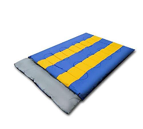 DENGDAI Bolsa de Dormir Doble al Aire Libre Camping, Bolsa de Viaje portátil extraíble para Acampar, Hotel Sucio Viaje Saco de Dormir: Amazon.es: Hogar