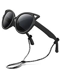 67c62222840 RIVBOS Rubber Kids Polarized Sunglasses for Boys Girls Children Age 3-10  RBK002-2