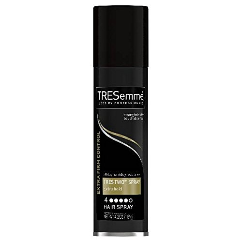 TRESemme Tres Two Extra Hold Aerosol Hairspray, 4.2 oz (Pack of 3)