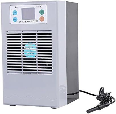 Termostato de acuario, Tanque de peces digital Refrigeración por agua Máquina de calefacción Tanque de peces Refrigerador enfriador para calefacción (35L ...