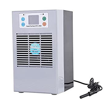 Image of Yosooo Aquarium Thermostat, 100-240V Digital Fish Tank Water Cooling Heating Machine Fish Tank Chiller Heater for Small-Scale Refrigeration Heating Aquaculture Pet Supplies