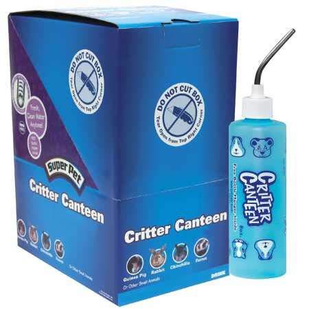 SuperPet 12-PACK Critter Canteen Bottle (8 oz) by Super Pet