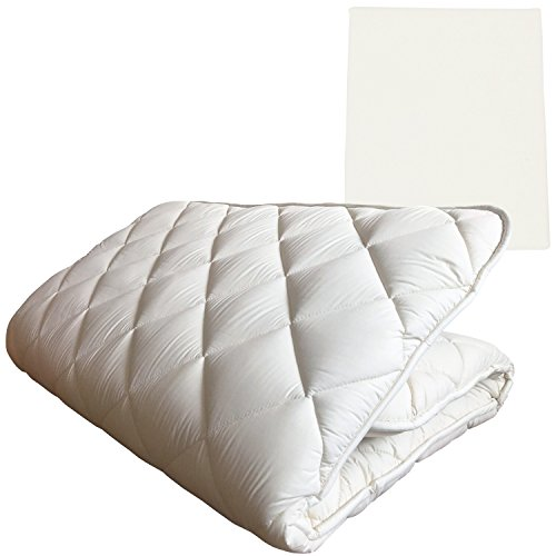 Fuli Japanese Traditional Shiki Futon Shikibuton High Grade Floor Mattress With Mattress Cover Ivory Milk White Twin Xl Made In Japan