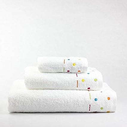 Juego de Toallas para bebés Florencia (1 Toalla de baño,1 de Lavabo y
