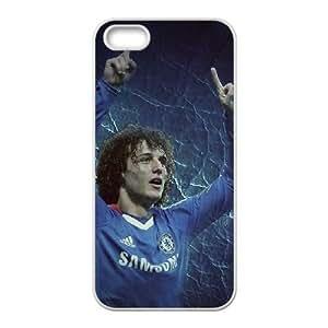iPhone 5 5s phone case White David Luiz DDRK5360627
