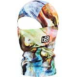 BLACKSTRAP Kids The Hood Dual Layer Cold Weather Neck Gaiter and Warmer for Children, Smoke