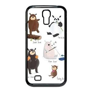 Samsung Galaxy S4 Cases Cute Bears, Samsung Galaxy S4 Cases For Teen Girls - [Black] Kweet